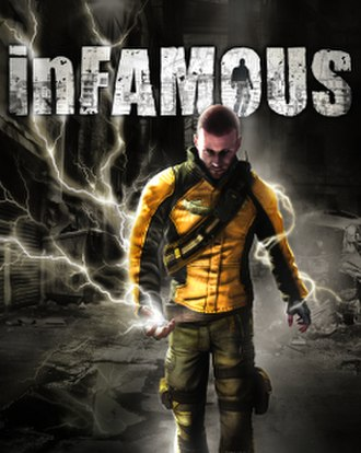 Infamous (video game) - Image: Infamous cover