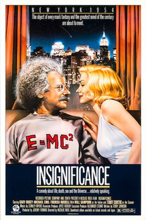 Insignificance (film) - Lorimar release poster