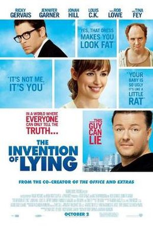 The Invention of Lying - Theatrical release poster