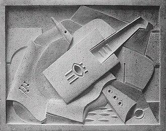 Jacques Lipchitz - Image: Jacques Lipchitz, 1918, Still Life, bas relief, stone
