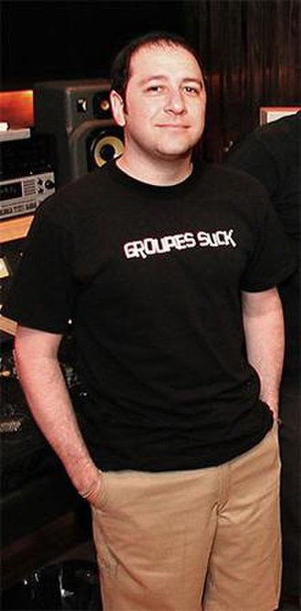 Jerry Finn - Finn at Bernie Grundman Mastering in Los Angeles, 2001