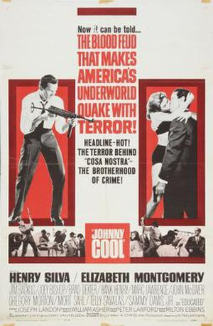 Johnny Cool - Theatrical release poster
