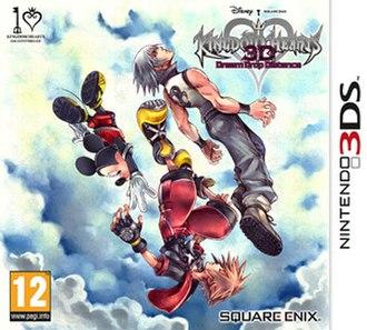 Kingdom Hearts 3D: Dream Drop Distance - Image: KH3D Euro Cover