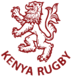 Kenya national rugby union team - Image: Kenya Rugby logo