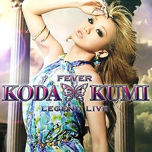 Fever: Legend Live - Image: Koda Kumi's FEVER Legend Live DVD cover