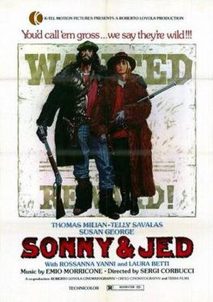Sonny and Jed - US film poster