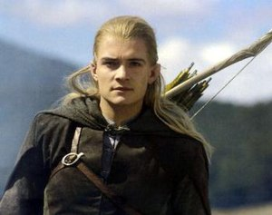 Legolas - Orlando Bloom as Legolas in Peter Jackson's The Lord of the Rings: The Two Towers.