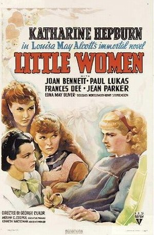 Little Women (1933 film) - Image: Little Women 1933 poster