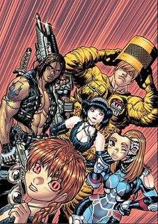 Livewires (comics)
