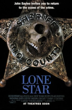 Lone Star (1996 film) - Theatrical release poster