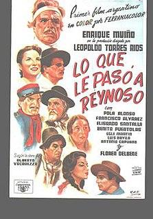 <i>Lo que le pasó a Reynoso</i> 1937 Argentine film