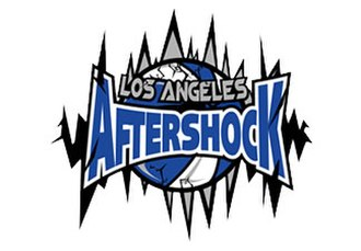 Los Angeles Aftershock - Image: Los Angeles Aftershock logo