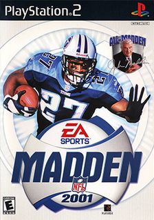 <i>Madden NFL 2001</i> 2000 American football video game
