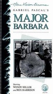 <i>Major Barbara</i> (film) 1941 film by Gabriel Pascal