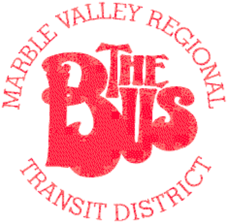 Marble Valley Regional Transit District - Image: Marble Valley The Bus logo