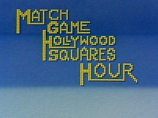 <i>Match Game-Hollywood Squares Hour</i> Television series