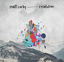 "Single cover for ""Resolution"""