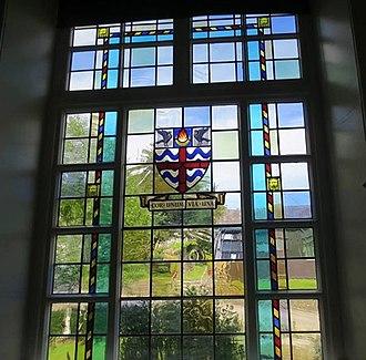 Casterton School - Image: Memorial Window