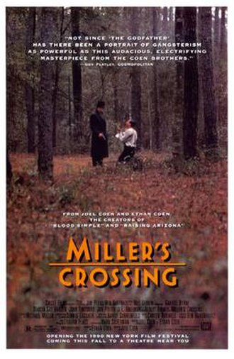 Miller's Crossing - Theatrical release poster