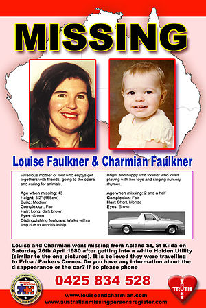 Louise and Charmian campaign poster, released ...