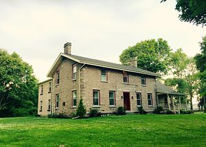 Nathan Comstock Jr. House - Nathan Comstock Jr. House, July 2015