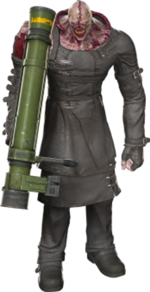 Nemesis (Resident Evil) - Image: Nemesis 0