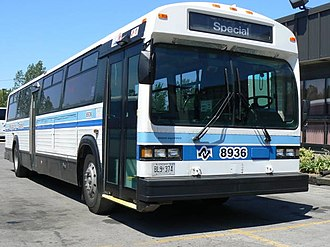 Niagara Falls Transit - Most buses are still painted in the old livery