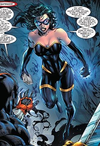 Nightshade (DC Comics) - Image: Nightshade Deathstroke 33