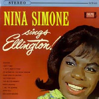 Nina Simone Sings Ellington - Image: Ninasimonesingsellin gton
