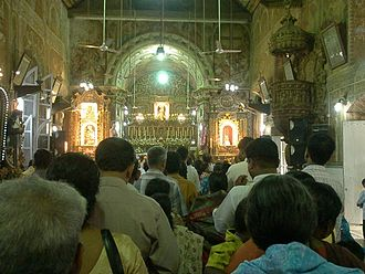 St. Antony's Forane Church - An inside view of the St. Anthony's Forane Church, Ollur