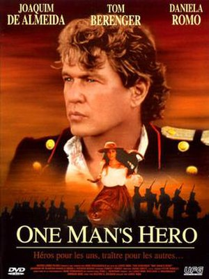 One Man's Hero - DVD cover