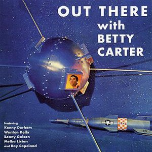 Out There (Betty Carter album) - Image: Out Therewith Betty Carter