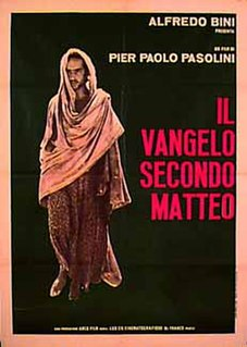 1964 film by Pier Paolo Pasolini