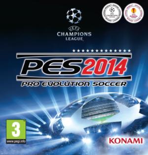 Pro Evolution Soccer 2014 - Image: Pes 2014eucover