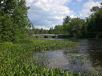 Loring, Port Loring and District - Image: Port Loring Bridge, Ontario