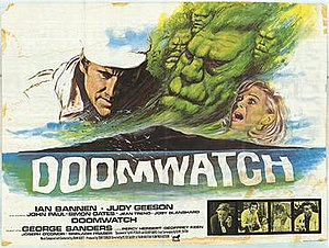 "Doomwatch (film) - Image: Poster for film ""Doomwatch"" (1972)"