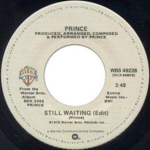 Still Waiting (Prince song) - Image: Prince Still Waiting single