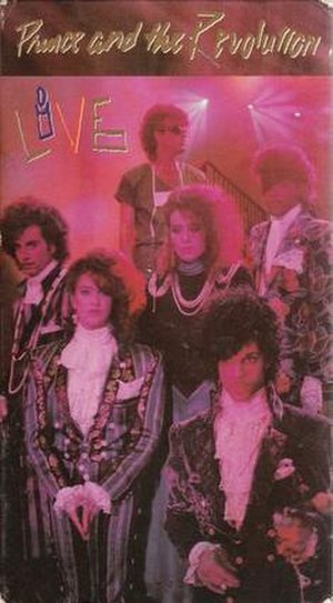 Prince and the Revolution: Live - Image: Prince and the Revolution Live VHS