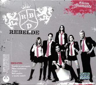 Rebelde (album) - Image: RBD Rebelde Edicion Diamante