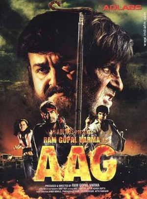 Aag (2007 film) - Poster