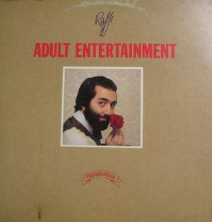 Adult Entertainment (album) - Image: Raffi adultentertainment