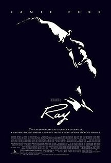 <i>Ray</i> (film) 2004 biographical film directed by Taylor Hackford