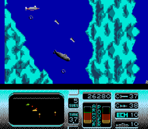 The Hunt for Red October (console game) - NES screenshot