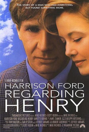 Regarding Henry - Promotional release poster