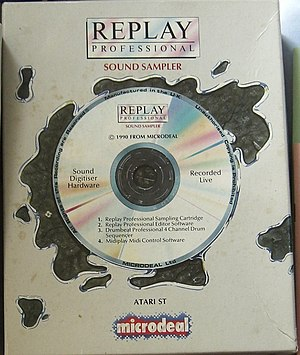 Replay Professional - Image: Replay cover CIMG1210