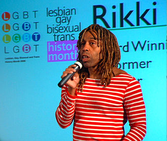 Rikki Beadle-Blair - Rikki Beadle-Blair speaking at the pre-launch of LGBT History Month 08 at the Royal Courts of Justice – 26 November 2007
