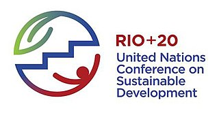 United Nations Conference on Sustainable Development June 2012 UN conference in Rio de Janeiro, Brazil