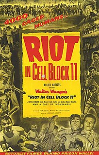 <i>Riot in Cell Block 11</i> 1954 film by Don Siegel