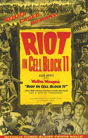 Riot in Cell Block 11 - Theatrical release poster