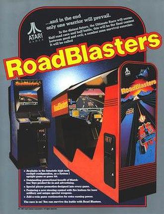 RoadBlasters - Arcade flyer